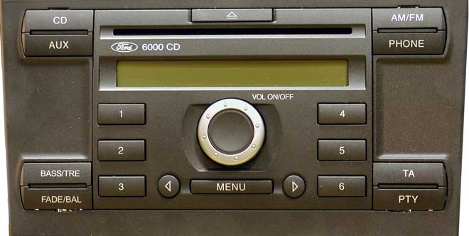 ford 6000 cd player manual