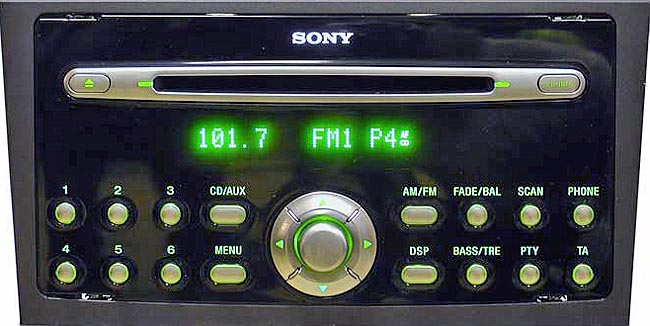 ford sony cd132 radio codes. Black Bedroom Furniture Sets. Home Design Ideas