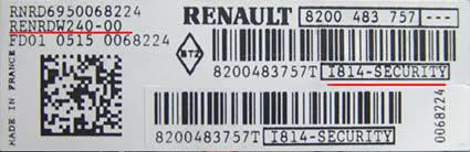 Renault Radio Code Online